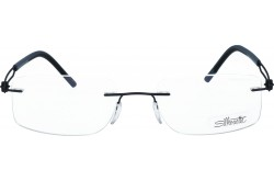 SILHOUETTE FRAME FOR UNISEX SQUARE BLUE - 5356/40  6057