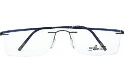 SILHOUETTE FRAME FOR UNISEX CAT EYE BLUE - 5523/GN 6660