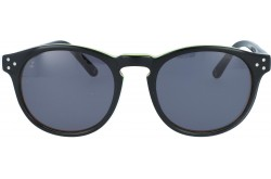 QMARINES SUNGLASS FOR UNISEX ROUND BLACK - 603  03