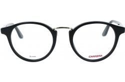 CARRERA FRAME FOR UNISEX ROUND BLACK - 6645  2M2