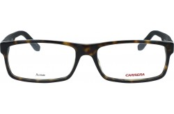 CARRERA FRAME FOR UNISEX RECTANGLE BLACK AND TIGER - 6655  SW6