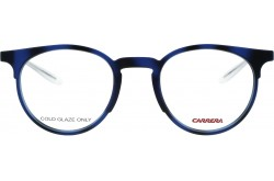 CARRERA FRAME FOR UNISEX ROUND BLUE - 6665  R40