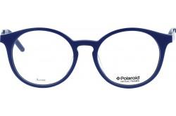 POLAROID  FRAME FOR UNISEX ROUND BLUE - 803  24D