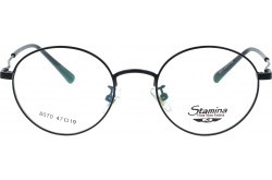 STAMINA FRAME FOR UNISEX ROUND BLACK - 8070  C1