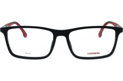 CARRERA FRAME FOR UNISEX RECTANGLE BLACK MATT - 8828  003