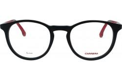 CARRERA FRAME FOR UNISEX ROUND BLACK MATT - 8829  003