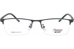 نظارة طبية STAMINA للرجال مستطيل لون أسود - A8005  C2