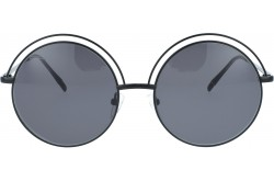 VACUUM PACK SUNGLASS FOR UNISEX ROUND BLACK - CURTIS  001