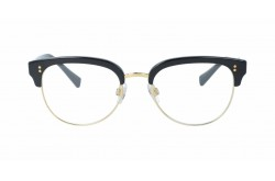 DOLCE&GABBANA FRAME FOR WOMEN CLUBMASTER BLACK AND GOLD - DG3270  501