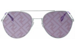 FENDI SUNGLASS FOR WOMEN ROUND SILVER  - FF0194S GMEBF