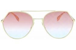 نظارة شمسية FENDI للنساء دائري لون ذهبي - FF0194S-OBL0M