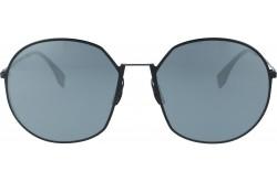نظارة شمسية FENDI للنساء دائري لون أسود - FF0313FS   807T4