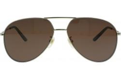 نظارة شمسية GUCCI للرجال والنساء افياتور لون ذهبي - GG0356S  002
