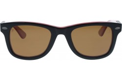 QMARINES SUNGLASS FOR UNISEX WAYFARER BLACK AND RED - J06  04