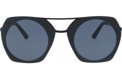 VACUUM PACK SUNGLASS FOR UNISEX ROUND BLACK - KIM  001