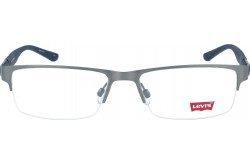 LEVIS FRAME FOR MEN SQUARE SILVER AND BLUE - LS50256Z  C02