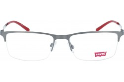 LEVIS FRAME FOR MEN SQUARE SILVER AND BLACK - LS50285Z  C03