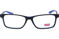 LEVIS FRAME FOR UNISEX SQUARE BLACK AND BLUE - LS60178Z  C02