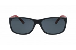 POLO  SUNGLASS FOR MEN RECTANGLE BLACK AND RED - PH4109  5247/87