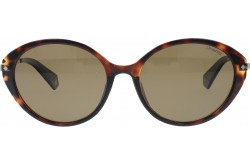POLAROID  SUNGLASS FOR WOMEN CAT EYE GOLD AND TIGER - PLD4077FS   086SP