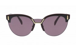 PRADA SUNGLASS FOR WOMEN ROUND BURGUNDY - PR04U-TY7-098