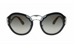 PRADA SUNGLASS FOR WOMEN ROUND BLACK AND TIGER - PR09T 1AB3D0