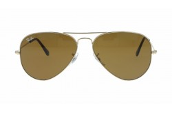 RAYBAN  SUNGLASS FOR UNISEX AVIATOR GOLD - RB3025  00133