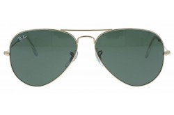 RAYBAN  SUNGLASS FOR UNISEX AVIATOR  GOLD - RB3025  L0205