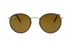 نظارة شمسية RAYBAN  للرجال والنساء دائري لون بني - RB3475Q 9041