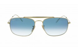 RAYBAN  SUNGLASS FOR UNISEX SQUARE GOLD - RB3560  0013F