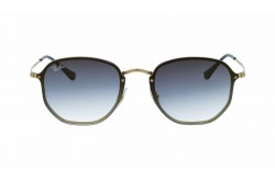 RAYBAN  SUNGLASS FOR UNISEX ROUND GOLD - RB3579N  91400S