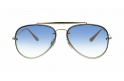 RAYBAN  SUNGLASS FOR UNISEX AVIATOR GOLD - RB3584N  00119