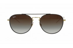 RAYBAN  SUNGLASS FOR UNISEX ROUND GOLD - RB3589  905513