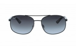 RAYBAN  SUNGLASS FOR MEN SQUARE BLACK - RB3593   0028G