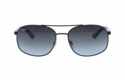 نظارة شمسية RAYBAN  للرجال مربع لون أسود - RB3593   0028G