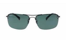 RAYBAN  SUNGLASS FOR MEN RECTANGLE GUN METAL - RB3607  00271