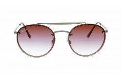 RAYBAN  SUNGLASS FOR UNISEX ROUND BRONZE - RB3614N  91410T