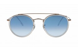 RAYBAN  SUNGLASS FOR UNISEX ROUND GOLD - RB3647N  90683F