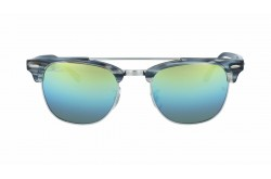 RAYBAN  SUNGLASS FOR UNISEX CLUBMASTER MARBLE - RB3816 123912