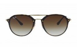 RAYBAN  SUNGLASS FOR UNISEX ROUND BROWN - RB4292N 71013