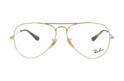 RAYBAN FRAME FOR UNISEX AVIATOR GOLD - RB6489 2500