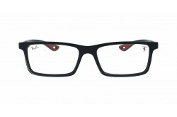 RAYBAN  FRAME FOR UNISEX RECTANGLE BLACK AND RED - RB8901M  F634