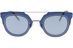 نظارة شمسية RETRO للنساء دائري لون أزرق - RT1654  01