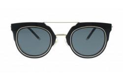 نظارة شمسية RETRO للنساء دائري لون أسود - RT1654  02