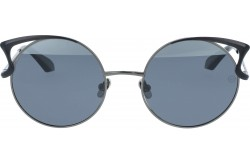 RETRO SUNGLASS FOR WOMEN CAT EYE BLACK - RT1671  06