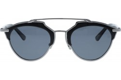 RETRO SUNGLASS FOR WOMEN ROUND SILVER AND BLACK - RT1674  03