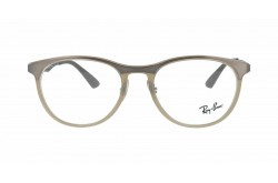 RAYBAN  FRAME FOR UNISEX ROUND LIGHT-BROWN - RX7116 8018