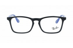 RAYBAN  FRAME FOR KIDS RECTANGLE BLACK AND BLUE - RY1553  3726