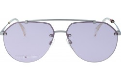 TOMMY HILFIGER SUNGLASS FOR WOMEN AVIATOR SILVER - TH1598S   YZCUR