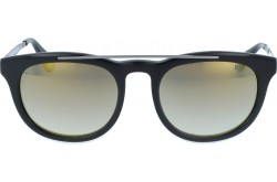 VINTAGE SUNGLASS FOR UNISEX ROUND BLACK - V03  1